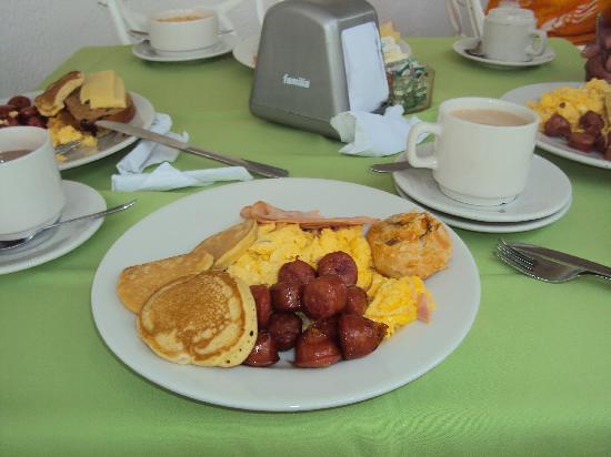 هوتل كازابلانكا: el desayuno