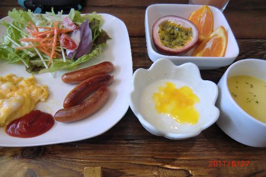 Soraniwa Hotel and Cafe: 朝食