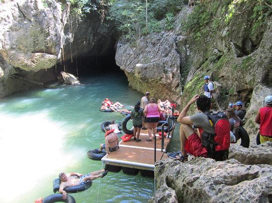 X-Stream Cave Tubing