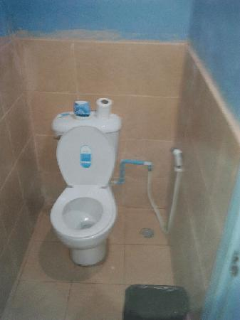 Koh Tao Backpackers Hostel: Western toilets