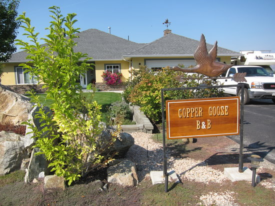 Copper Goose B & B : The B&B Entrance