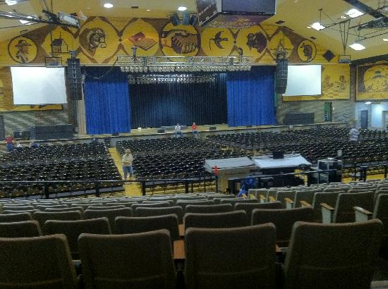 Inside The Corn Palace Picture Of Corn Palace Mitchell