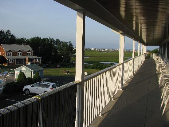 Mariner Resort: vue de notre balcon