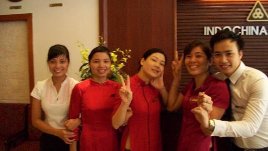 Indochina Legend Hotel: Always Smiling