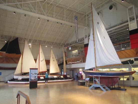 Maritime Museum of the Atlantic: Sailboat exhibit