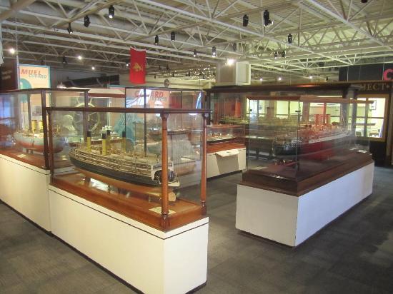 Maritime Museum of the Atlantic: Model ships