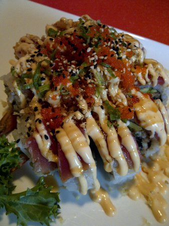 Bangkok in Downtown Vero Beach: Specialty Sushi....Very Yummy!!!