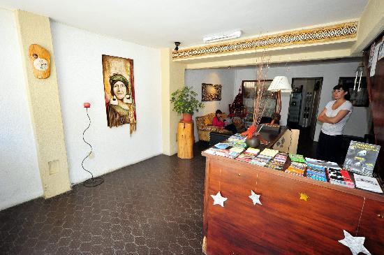 Lo De Max: recepcion y sala de estar