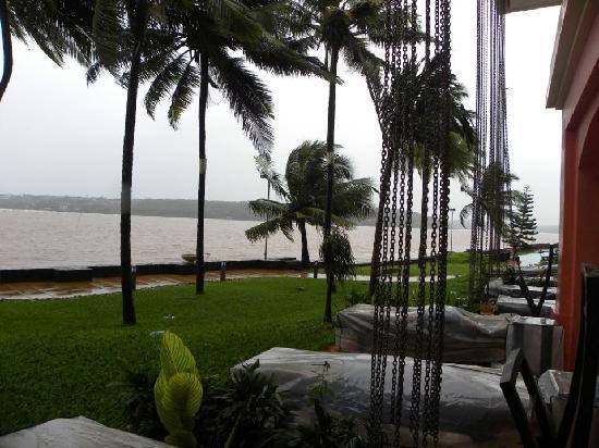 กัวมาริออทรีสอร์ทแอนด์สปา: View from the room