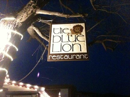Blue Lion: I didn't feel blue when I was there!