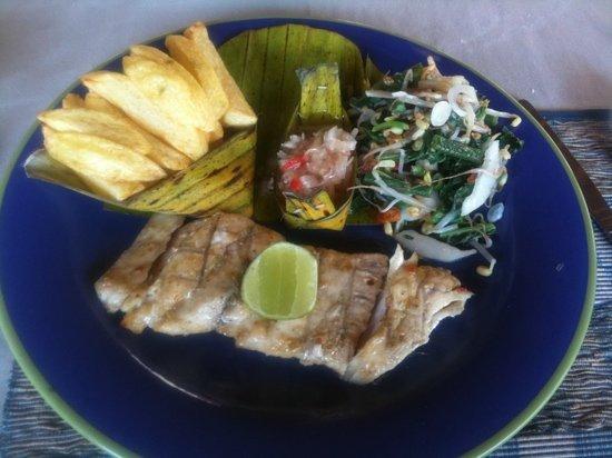 Taman Bebek Hita: BBQ Mahi-Mahi fish