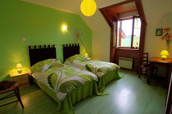 La Clayette, Francja: Chambre Verte