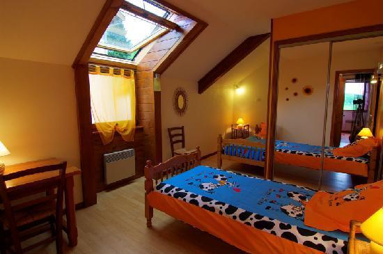 La Clayette, France: Chambre Enfants de la suite