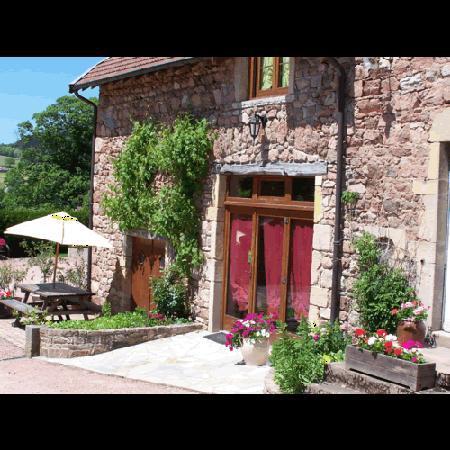 La Clayette, ฝรั่งเศส: ancienne ferme typique du Charolais Brionnais