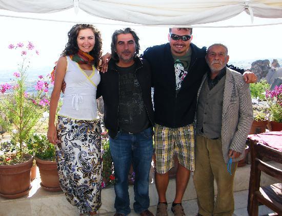 Takaev Cave Hotel & Guest House: michela-murat-gianni-nonnino anatolico
