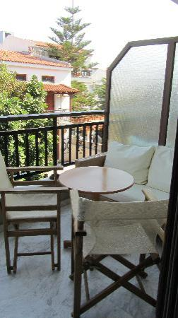 Bourtzi Boutique Hotel: balcony