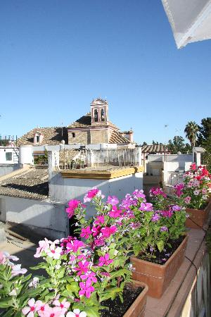 Hotel Casa 1800 Sevilla: vue de la terrasse