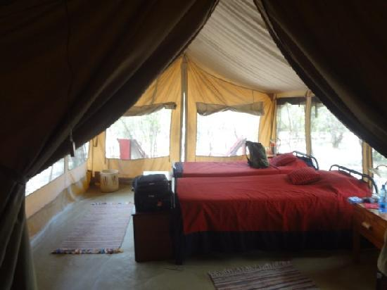 JK Mara Camp: Inside JK Mara Tented Accomodation