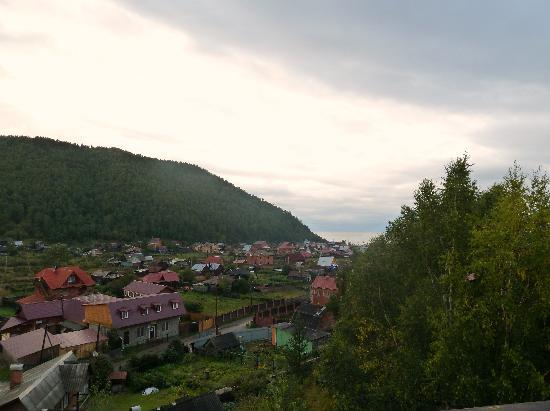 Baikalskye Terema: Vue sur le lac Baîkal de la chambre