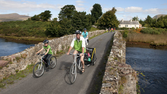 Clew Bay Bike Hire and Outdoor Day Adventures: The Great Western Greenway Westport - Achill Sound - 42km