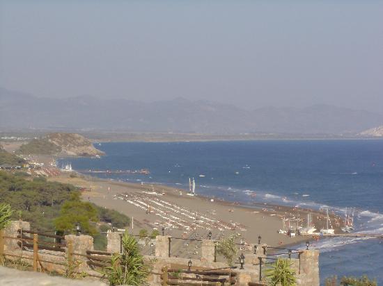 Sarigerme, Turquía: Sarıgerme Plajı Kuş Bakışı