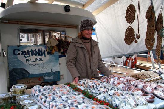 Helsinki, Finlandiya: Herring Market