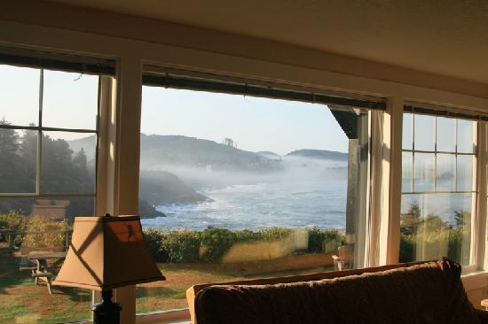 Inn at Arch Rock: Room with a fantastic view
