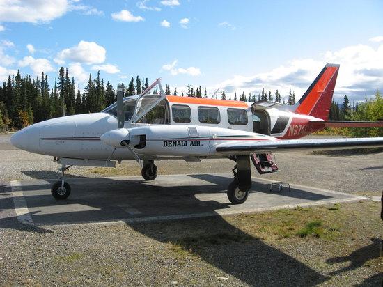 The plane Denali Air