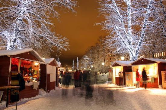 Helsinki, Finland: St. Thomas Christmas Market