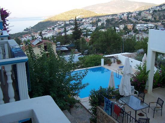 Kelebek Hotel: View from balcony