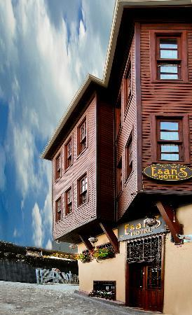 Esans Hotel: outer look