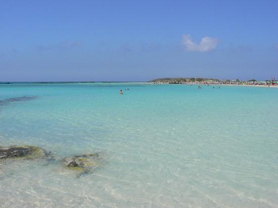 Playa de Elafonisi: paradise