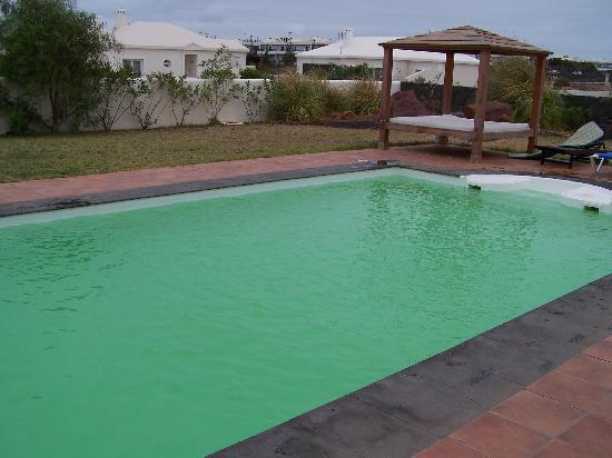 Villas Las Arecas Club: pool before cleaning