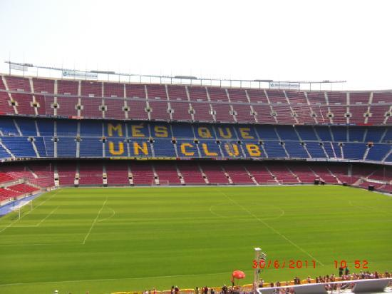 Camp Nou: lo stadio