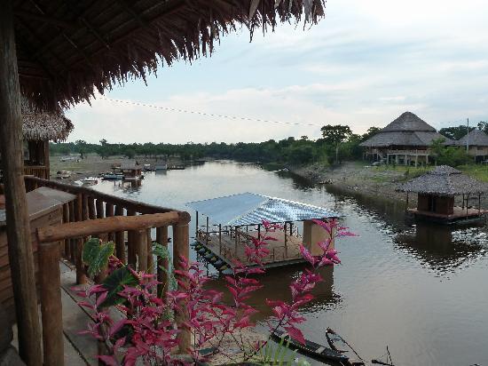 Yakuruna Guest House : Vue de la terrasse