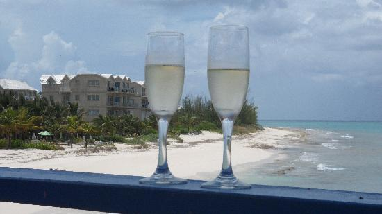 Compass Point Beach Resort: The view from our balcony