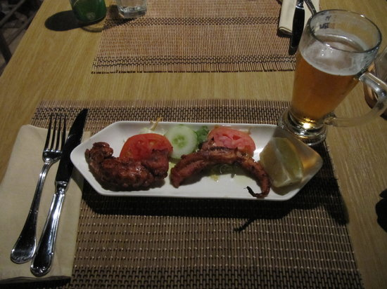 Stefany's Restaurant : grilled octopus