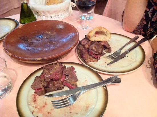 Asador Donostiarra : Uneatable leftovers - what a waste!