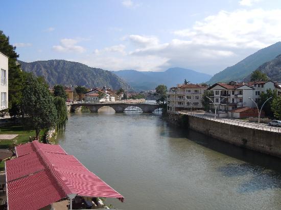 Buyuk Amasya Oteli : panorama dalla stanza del Buyuk
