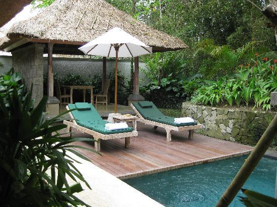 Puri Sunia Resort: Piscina privada