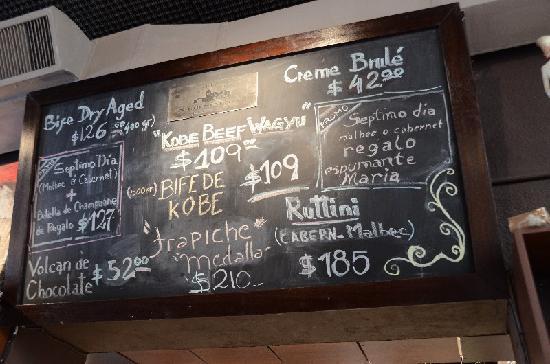 La Cabrera Sur: Specials