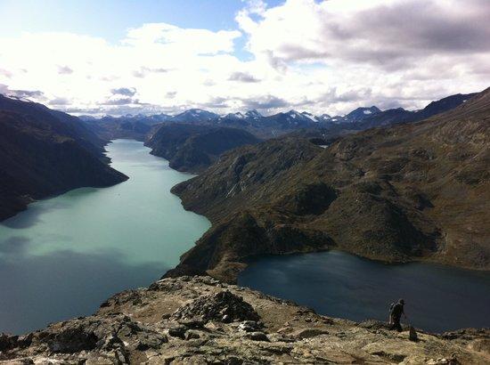 Jotunheimen National Park: Besseggen view