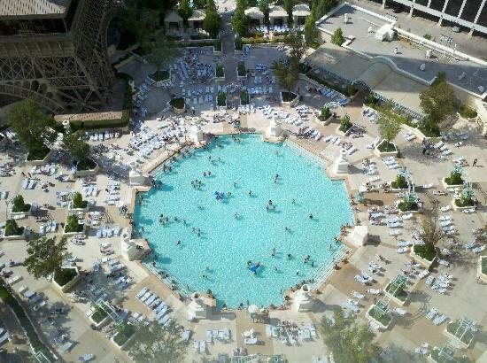 Swimming Pool View Picture Of Paris Las Vegas Las Vegas Tripadvisor