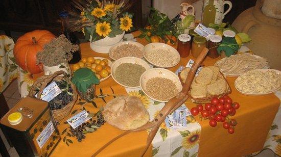 Agriturismo Le Tagliate: prodotti tipici