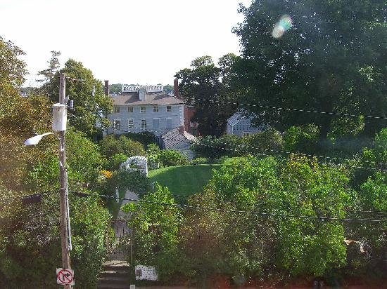 View of Moffat Ladd House from our room - Picture of Hilton Garden ...