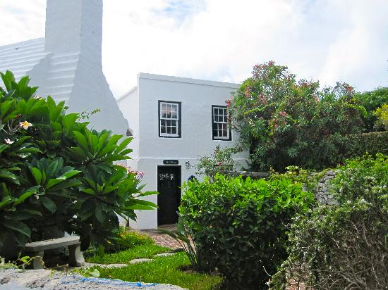 """The Bermuda Perfumery: Out Back - The """"tour"""""""