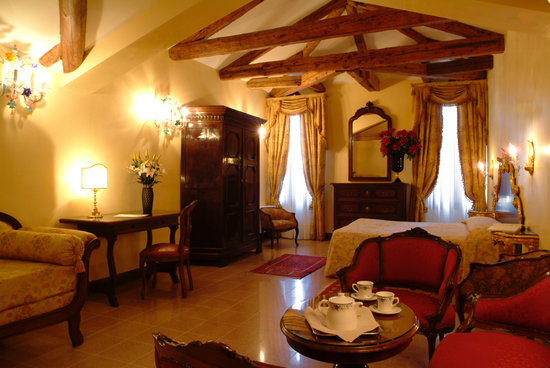 San Cassiano Residenza d'Epoca Ca' Favretto: SUITE OVERLOOKING THE GRAN CANAL