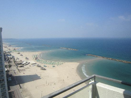 Herods Tel Aviv: View from the lounge
