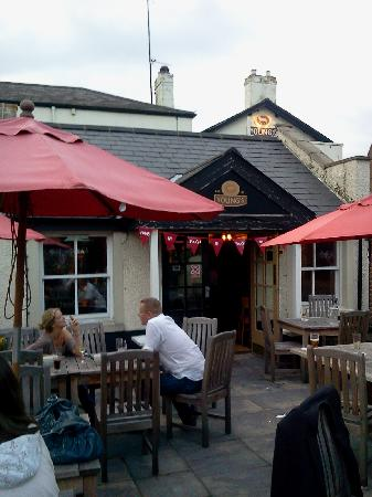 Duke's Head Hotel Wallington: Patio