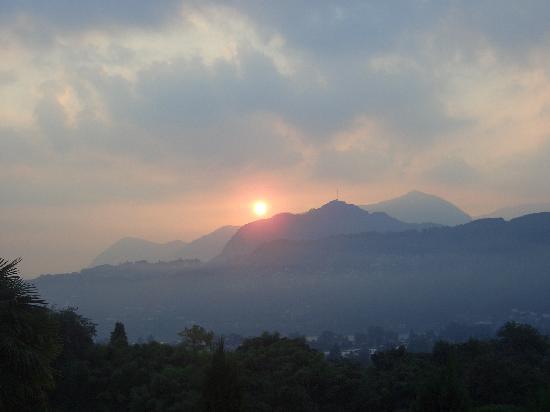 Hotel Paladina : Blick aus dem Fenster am Morgen